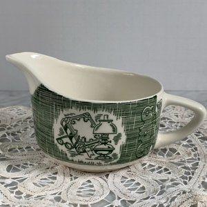 Vintage Royal China Old Curiosity Shop Creamer